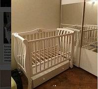 Детская кроватка Арманда люкс (слоновая кость), фото 1