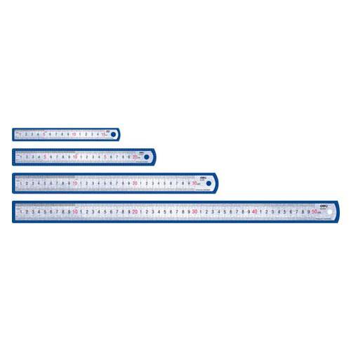 Линейка металлическая DELI, 50 см