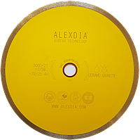 Сплошной алмазный диск по керамограниту 200 мм. ALEXDIA