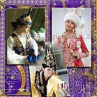Пошив Казахских платьев с шапочкой. Дизайнерский подход