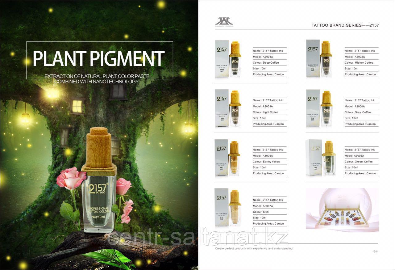 Пигменты для татуажа 2157 из натуральных ингредиентов для перманентного макияжа