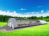 Быстровозводимые арочные ангары зернохранилища, овощехранилища, навес для сена, автосервис, цех или магазин