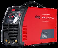 FUBAG Инвертор сварочный INTIG 400T AC/DC PULSE c горелкой FB TIG 18 5P 4 метр и модулем охлаждения и тележкой
