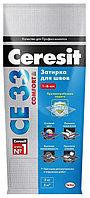 Затирка для швов Ceresit  CE 33 Comfort, 2 кг