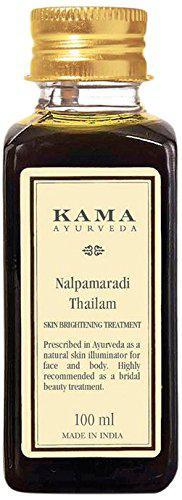 Омолаживающее аюрведическое масло для лица Nalpamaradi KAMA AYURVEDA 100 грамм