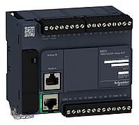Компактный Базовый блок M221-16IO транзист источник Ethernet