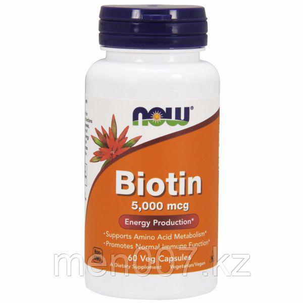 БАД Биотин 5000 (60 капсул)