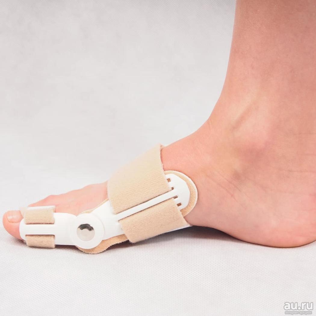 Гибкий фиксатор для пальца стопы