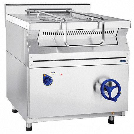 Сковорода электрическая ЭСК-80-0,27-40, (800х800х950мм, 40л, 9кВт, нерж, с цельнотянутой чашей)