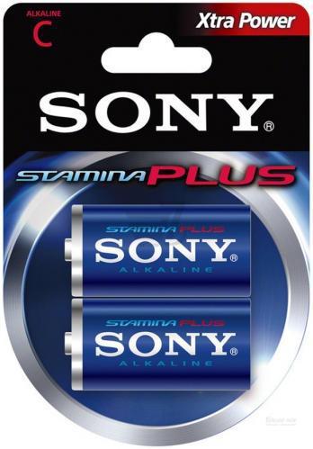 Батарейка Sony Stamina Plus C (R14, 343) Alkaline
