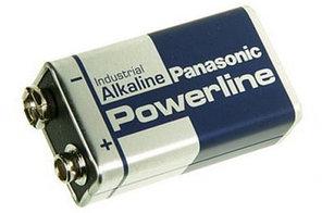 Батарейка крона 9v Powerline Industrial 6LR61 Panasonic, Бельгия