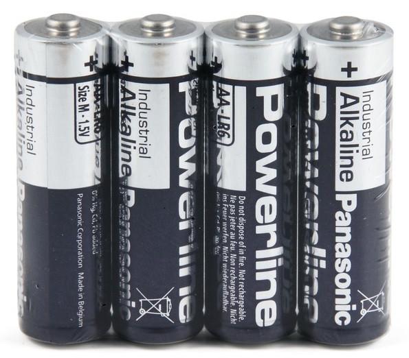Батарейка Panasonic AA  powerline Industrial LR6