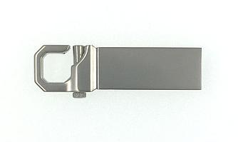 Металлическая флешка (карабин) под гравировку 8 гб
