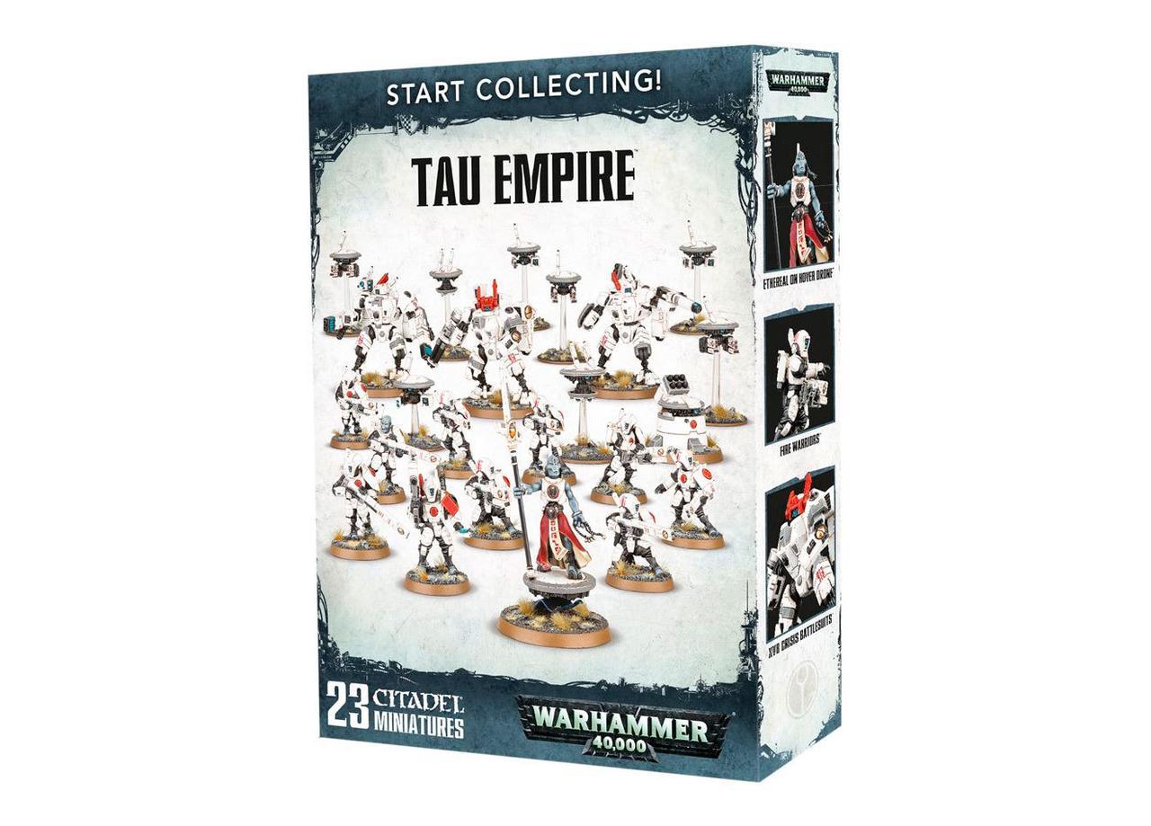 """ВАРХАММЕР 40000 МИНИАТЮРЫ: Набор: """"Начини собирать! Империя Тау (START COLLECTING! TAU EMPIRE)"""""""