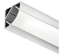 Профиль для углового монтажа,алюминий серебристый анодированный 2500мм, фото 1