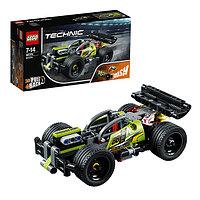 Конструктор Lego Technic Зеленый гоночный автомобиль 42072