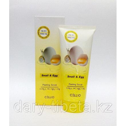 Celio Peeling Scrub Snail and Egg-Пилинг-скраб для лица