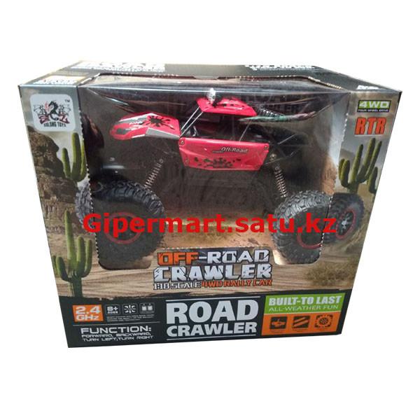 Радиоуправляемая машинка на пульте Road Crawler 4WD 1:18 2.4G