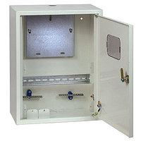 Щит учетно-распределительный навесной ЩРУН 1/12 с окном и шинами IP31 (400x300x140) EKF PROxima