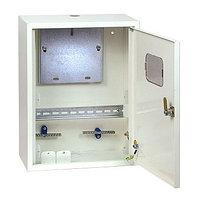 Щит учетно-распределительный навесной ЩУРн 3/24 бел. глц. с шинами и окном IP31 (560х550х165) EKF PR