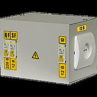 Ящик с понижающим трансформатором ЯТП-0.25 380/36В-3 36 УХЛ4 IP30 ИЭК