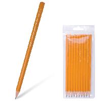Набор карандашей чернографитных KOH-I-NOOR, 2H-2B, 10 штук в ПВХ упаковке