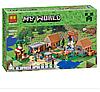 Конструктор Bela  Minecraft «деревня»