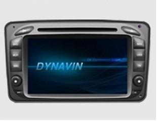 Штатное головное устройство Mercedes-Benz C-Class W203 (2000 2004) «Dynavin»