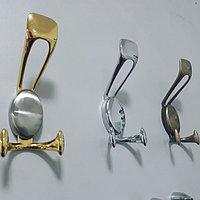 Крючок 41090, золото, хром, бронза., фото 1