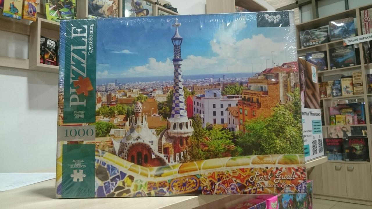 Пазлы 1000 эл. Парк Гуэль (Испания)