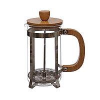 Заварочный чайник 600 мл. Крышка и ручка из бамбука.