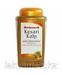 Чаванпраш Кесари Кальп с золотом, серебром и шафраном, Kesari Kalp, 500 гр