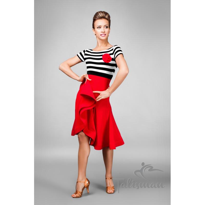 Женское платье для танца латина ПЛ-766