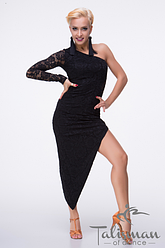 Платье с одним рукавом ПЛ-652