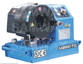 Обжимной станок для мобильного фургона или грузовика SAMWAY P32DC 12/24V DC
