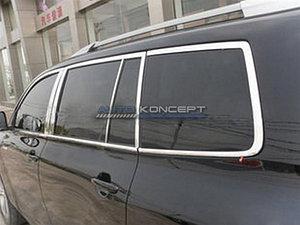 Комплект молдингов на окна и стойки дверей HIGHLANDER (XU40) 2007 - 2013
