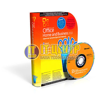 Microsoft Office Home and Business 2010, 32-bit/x64 Russian Kazakhstan Only DVD