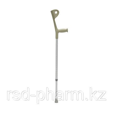 Костыли с опорой под локоть FS937L с УПС (размер М) цвет серый, фото 2