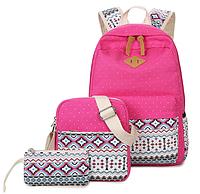Набор «3 в 1» рюкзак+сумка+косметичка, фото 1