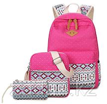 Набор «3 в 1» рюкзак+сумка+косметичка