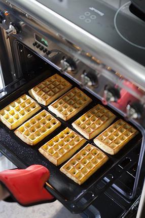 Силиконовая форма для выпечки венских вафель, фото 2
