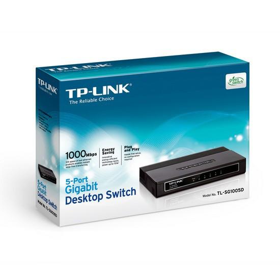 TP-Link Коммутатор TL-SG1005D