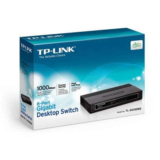 TP-Link Коммутатор TL-SG1008D