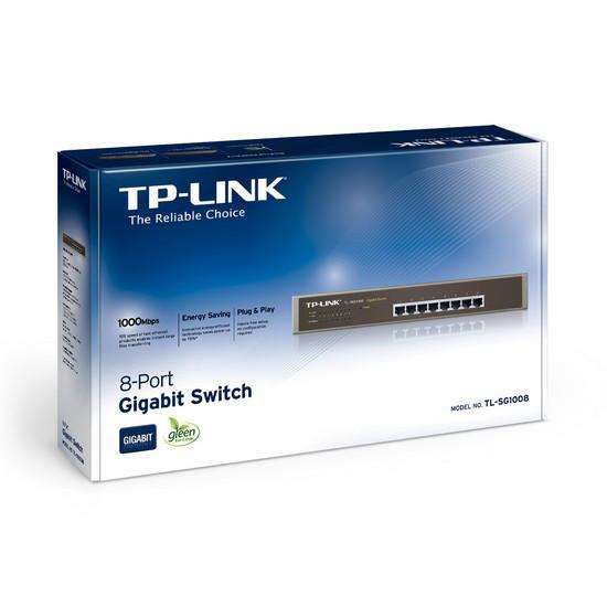 TP-Link Коммутатор TL-SG1008