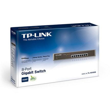 TP-Link Коммутатор TL-SG1008, фото 2