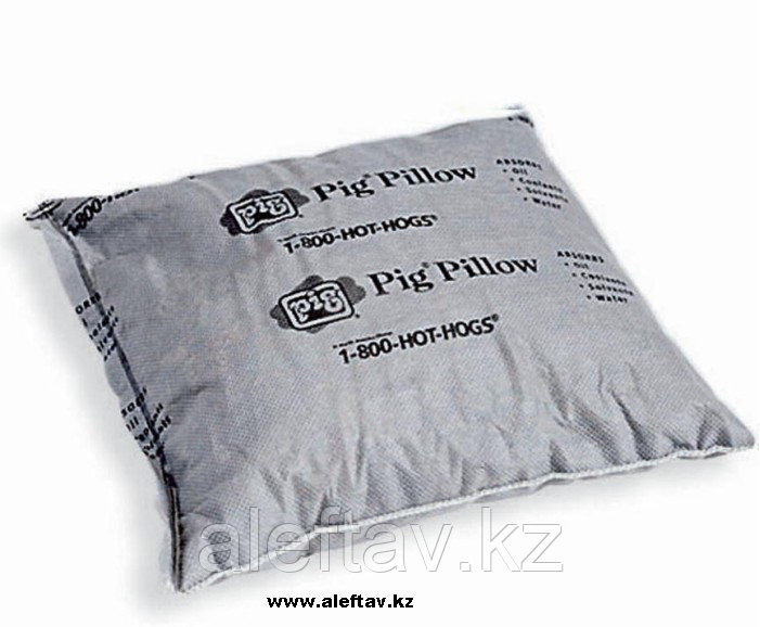 PIL201 PIG® Абсорбирующая подушка, Впитывает масла, охлаждающие жидкости, растворители, воду