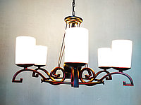 Кованная люстра на 6 лампочек, фото 1