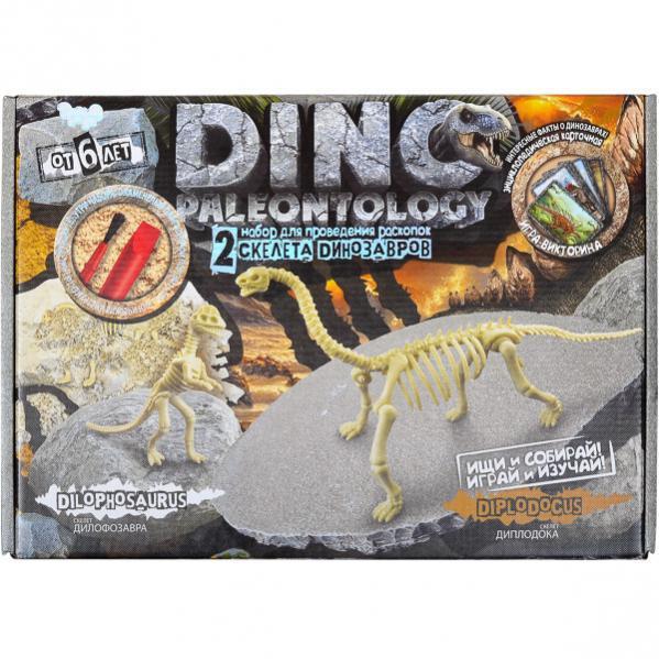Набор для проведения раскопок DINO PALEONTOLOGY Скелеты Диплодока - Дифолозавра