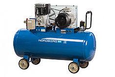 Компрессор поршневой с ременным приводом, объем 300 л NORDBERG ECO NCE300/1050