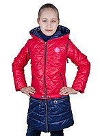 "Весенняя куртка для девочки ""Трансформер"""